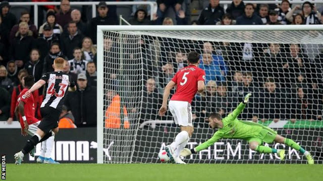 EPL: Newcastle victory deepen Manchester United worries