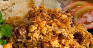 Aneka Resep Masakan Nusantara Nasi Goreng Kambing Kebon Sirih