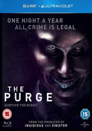 The Purge 2013 BRRip 800MB Hindi Dual Audio 720p Watch Online Full Movie Download bolly4u