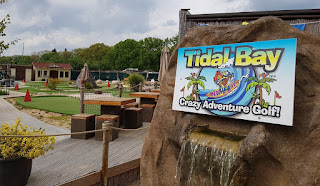 Tidal Bay Crazy Adventure Golf at Wyevale Garden Centre in Sherfield on Lodden