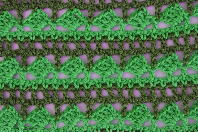 6 - Crochet Imagen Puntada para poncho de verano a crochet y ganchillo por Majovel Crochet