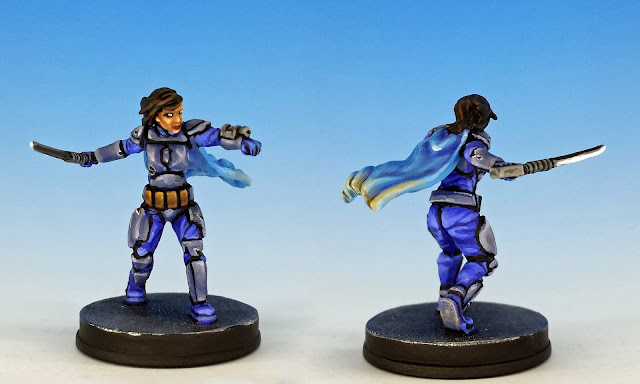 Shyla Varad, Imperial Assault (2016), painted miniature