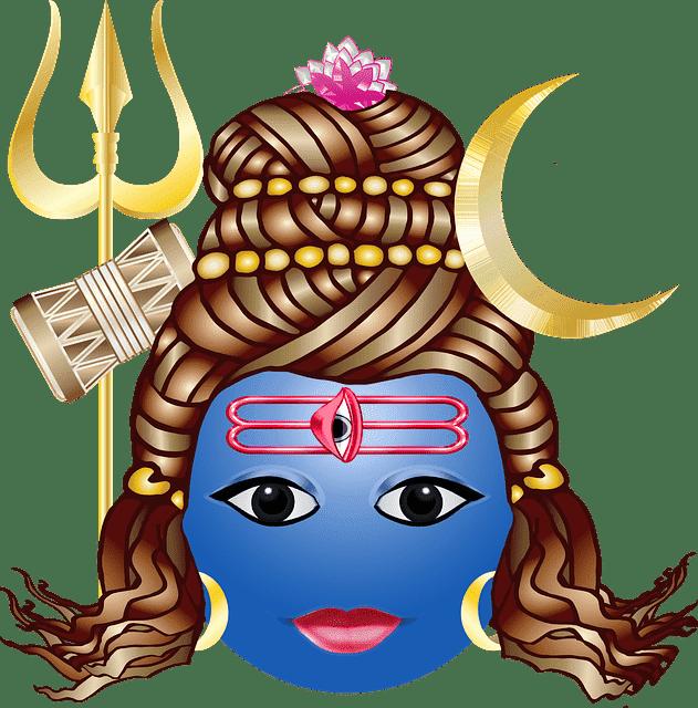Cartoon Art Shiva Ji Wallpaper For Mobile
