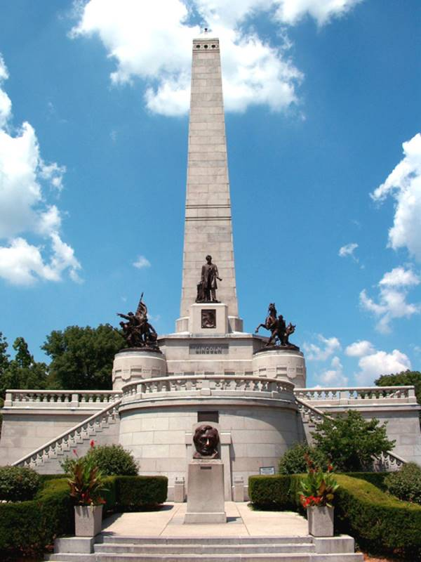 Tomb of Lincoln, Springfield, Illinois, USA