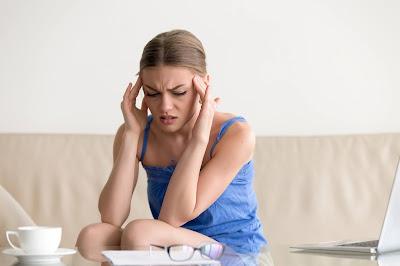 Mujer con trastorno de pánico