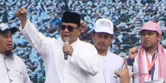 Hilangnya Dukungan PA 212 Dinilai Rugikan Prabowo, Bisa Jadi Lawan di 2024