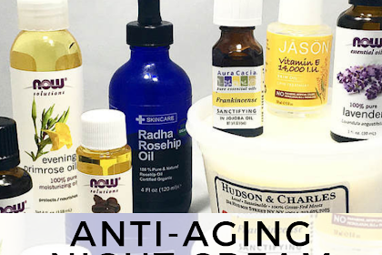 Anti-Aging Night Cream Recipe