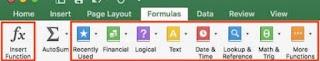 Basic Formulas in Excel Sheet