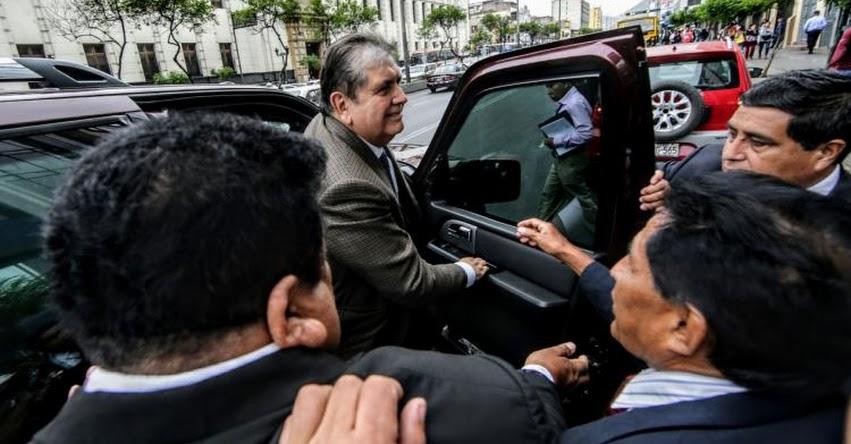 PREPARA SU FUGA: Expresidente Alan García habría solicitado asilo a Uruguay