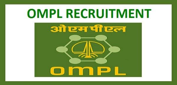 ONGC OMPL Executives Recruitment 2019