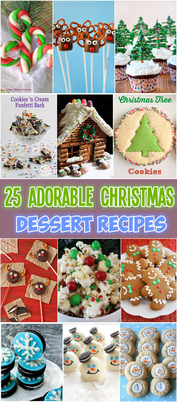 25 Adorable Christmas Dessert Recipes