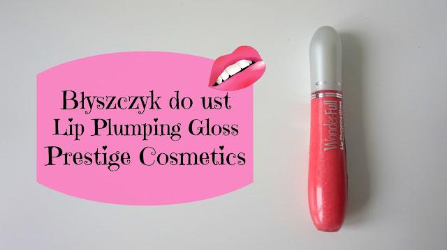 RECENZJA: Błyszczyk do ust Lip Plumping Gloss | Prestige Cosmetics