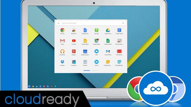 Chrome OS Alternatifi CloudReady OS