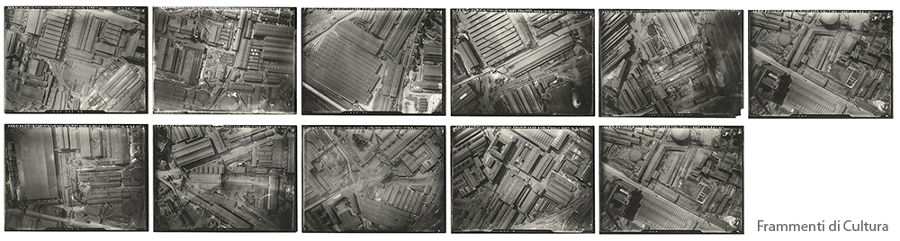 Anonymous - Untitled (Krupp Fabrik) 1933  (vintage gelatin silver print 11 photographs cm 17,5 X 23,5 each)