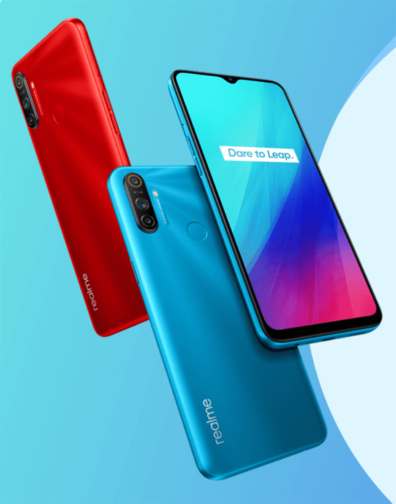 Realme C3 with triple-cam and a fingerprint scanner announced