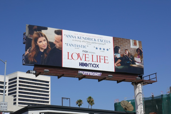 Love Life 2020 Emmy FYC billboard