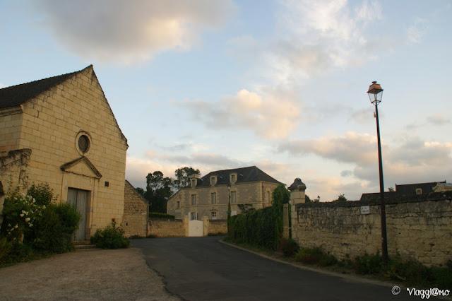 La Chiesa di Montsoreau sulla Loira