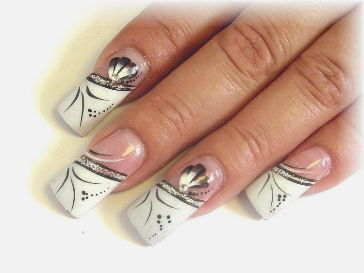 Happy New Year 2017 Nails design ideas