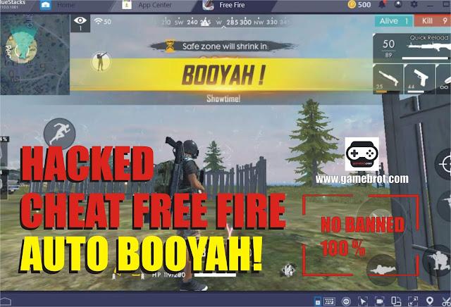 10 Cheat Free Fire (FF) Terbaru 2019, Auto Booyah! No Banned 100%