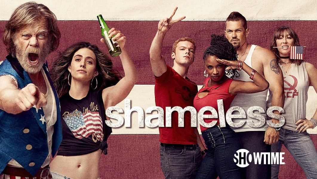Poster Shameless temporada season 7 Frank Fiona Ian Kev Vero Svetlana Gallagher