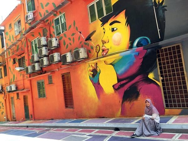 Berburu Street Art Dan Kuliner Halal Di Jalan Alor Kuala Lumpur