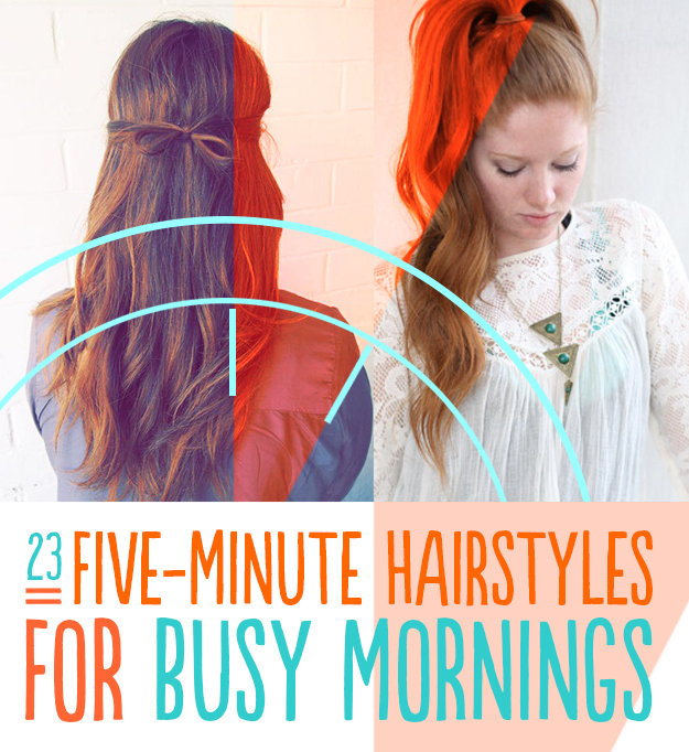 Five-Minute Hair Styles