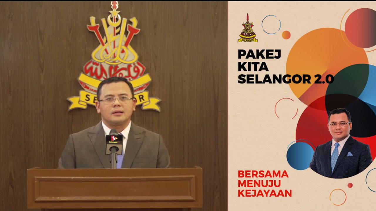 Bantuan Untuk Rakyat Selangor Dalam Pakej Kita Selangor 2.0