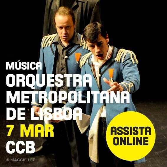 Così fan tutte de W.A. Mozart (versão de concerto) CCBDigital 6 de março