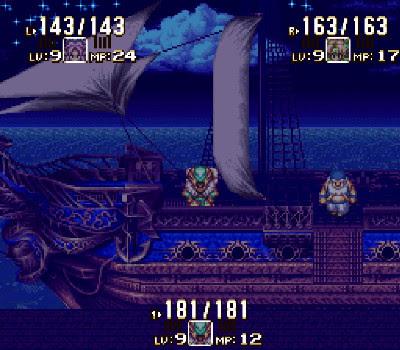 Seiken Densetsu 3 - Barco de noche