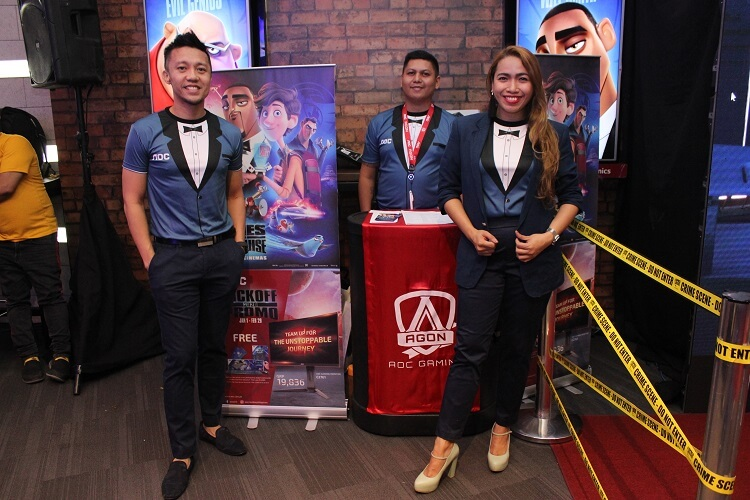 AOC Philippines' Media Screening
