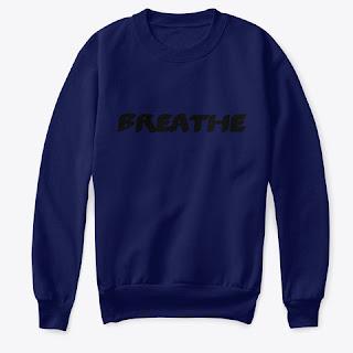 Breathe Kids Crew Neck Sweatshirt Dark Blue