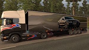 Audi trailer mod
