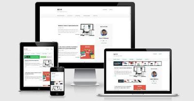 SEO V6 Blogger Template Free, Template Blog Untuk Daftar Adsense 100% Diterima