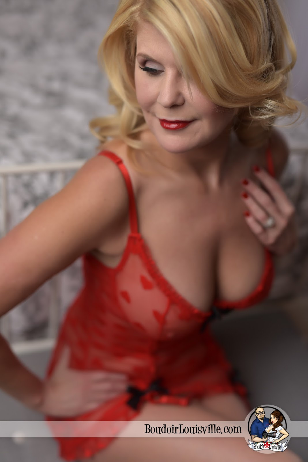 Louisville Boudoir And Pinup Photographers Sexy Red -1063