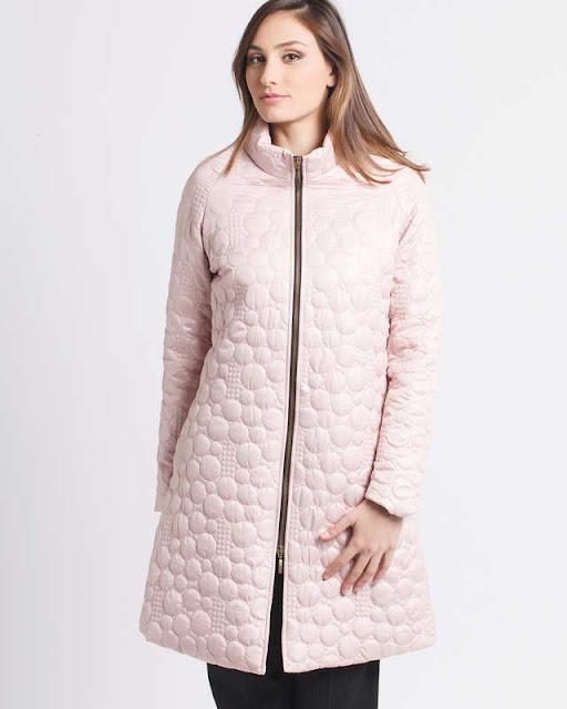 piumino rosa moda donna per l'inverno