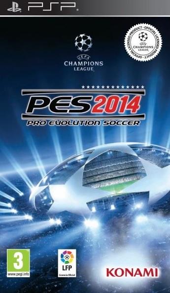 Pro Evolution Soccer 2014 [PSP] [Español] [1-Link] [MEGA]