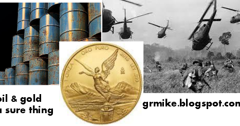 The Sky's The Limit For Oil and Gold war peace money currency trade