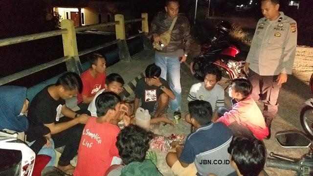 Kapolsek Masamba Luwu Utara Ciduk 10 Pemuda Sedang Pesta Miras