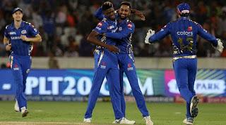 Alzarri Joseph 6-12 - SRH vs MI 19th Match IPL 2019 Highlights