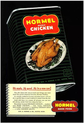 Hormel Chicken in a Can