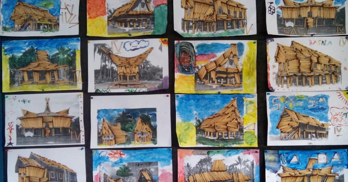 93+ Gambar Rumah Gadang Anak Sd Terbaru