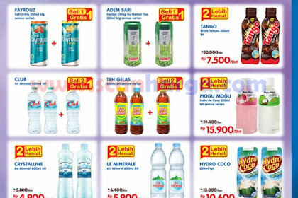 Promo Indomaret Beverages Corners 3 - 9 Juli 2019