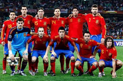 Akankah Spanyol Sang Juara Piala Eropa 2008 Menjuarai Piala Dunia 2010 ?