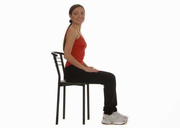 Sentadillas silla