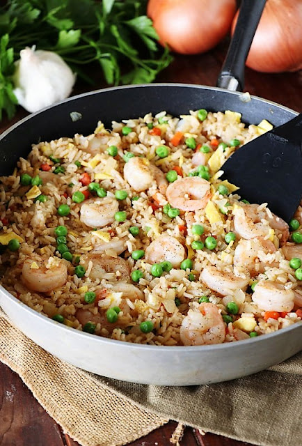 Skillet Shrimp Fried Rice Image