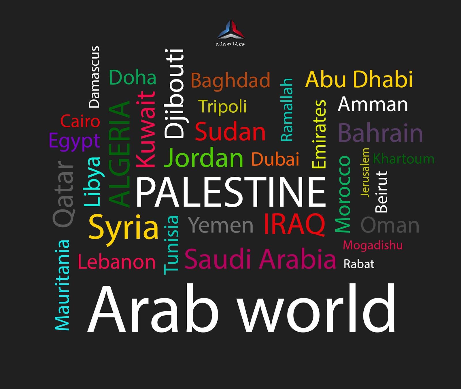 names of Arab