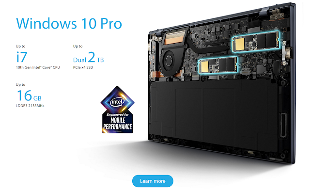 prosesor asus expertbook b9450