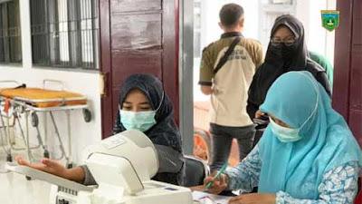 Difasilitasi Puskesmas Bukit Surungan, 45 Warga Ikuti Vaksinasi Kedua di Silaing Atas