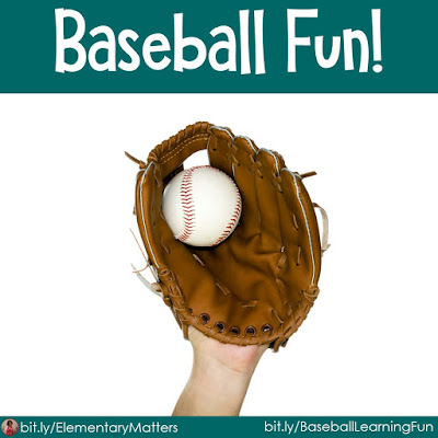 Baseball Fun! Books, activities, and resources to keep your sports fans engaged in learning!