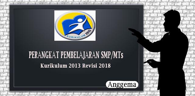 RPP Kelas  VIII Untuk SMP/MTs Kurikulum 2013 Rivisi 2018
